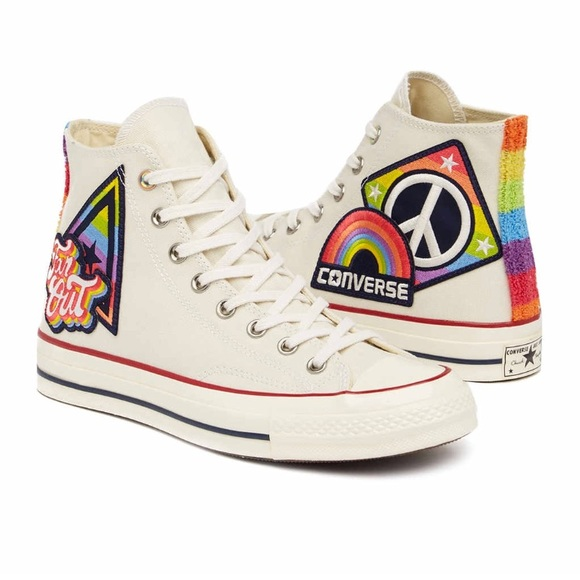 5106afa91867 Converse Chuck Taylor All Star 70 Hi Top Pride